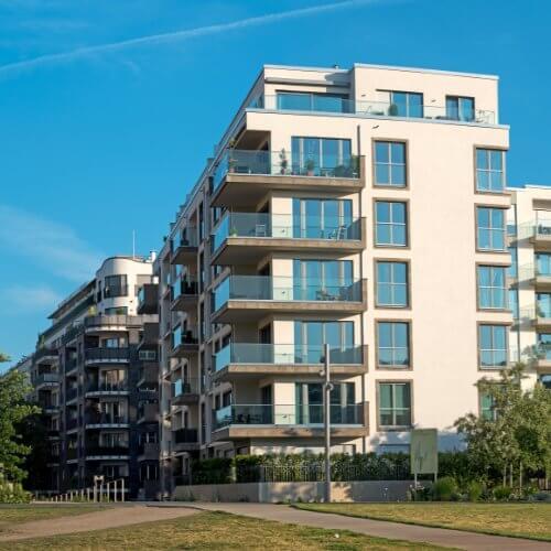 Nieruchomości mieszkalne administracja